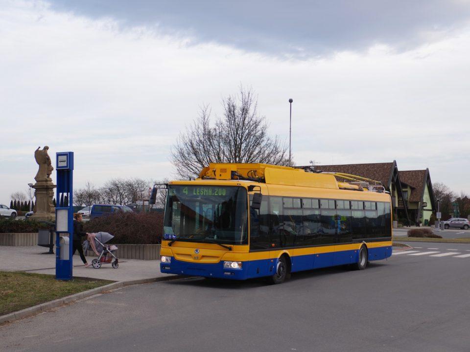 Klimatizovaný trolejbus Škoda 30 Tr