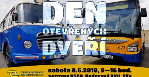 Den otevřených dveří DSZO připomene 75 let zlínských trolejbusů