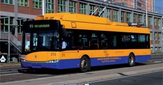 Na předprodejích nabízíme publikaci k 75. výročí trolejbusů ve Zlíně