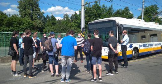 Pracovníci dopravního podniku se sešli s fanoušky MHD
